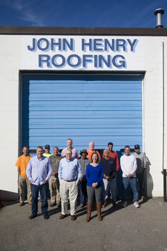 John Henry Roofing Team Photo